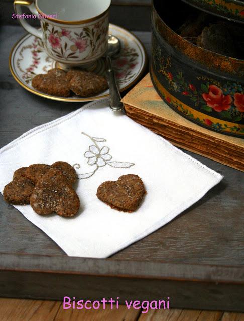Biscotti vegani senza zucchero - Cardamomo & co