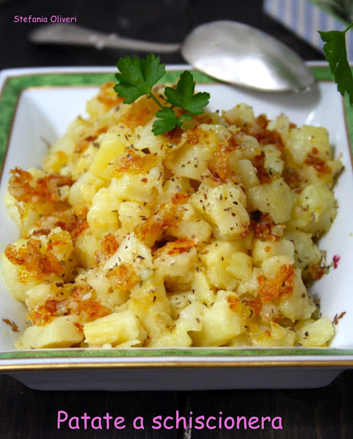 Patatas a schiscionera contorno senza glutine - Cardamomo & co