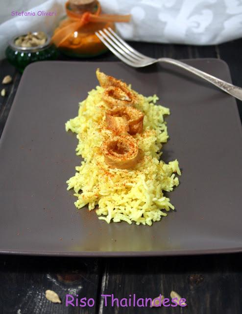 Riso thailandese con frittata - Cardamomo & co