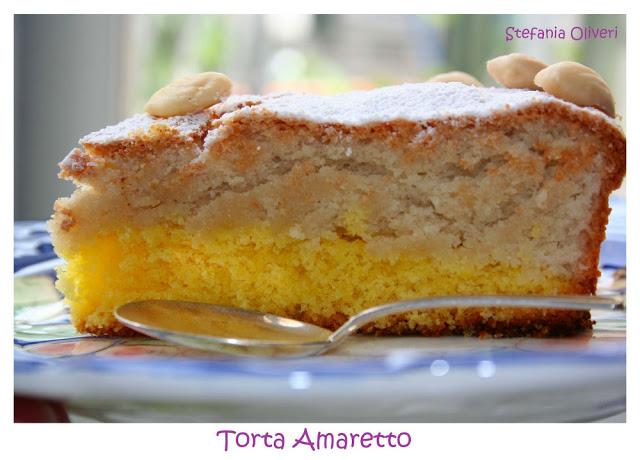 Torta amaretto con mandorle senza glutine - Cardamomo & co