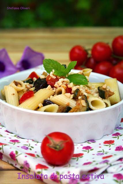 Insalata di pasta estiva senza glutine