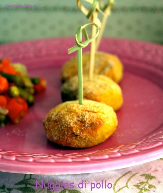 Nuggets di pollo, ovvero sia polpette di pollo - Cardamomo & co