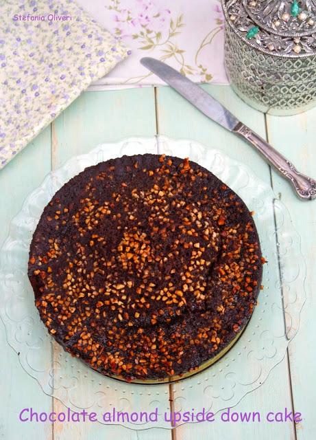 Torta al cioccolato facile upside-down - Cardamomo & co