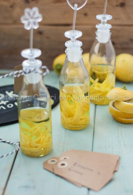 Estratto di limone, facile, veloce, bio - Cardamomo & co