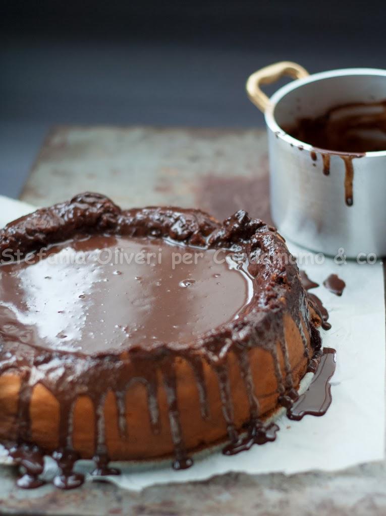 Torta al cioccolato e marsala senza glutine