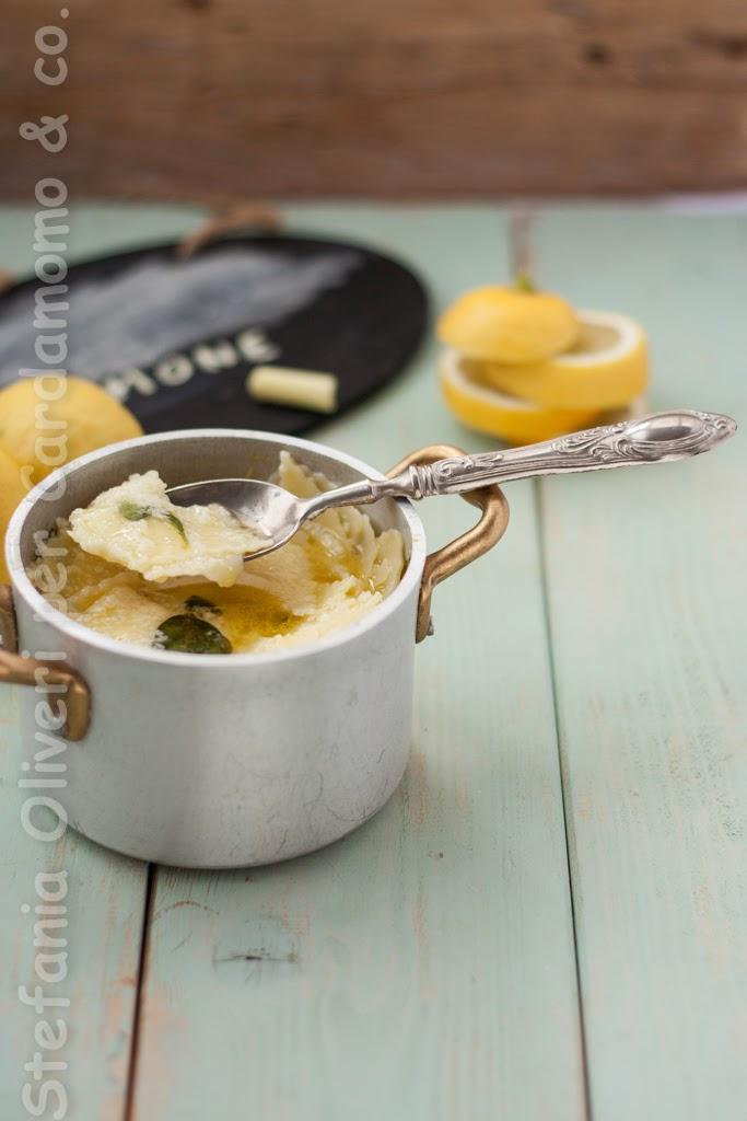 Maltagliati senza glutine al Limone - Cardamomo & co