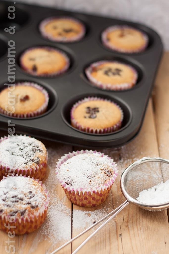 Muffins SENZA glutine, burro e zucchero raffinato - Cardamomo & co