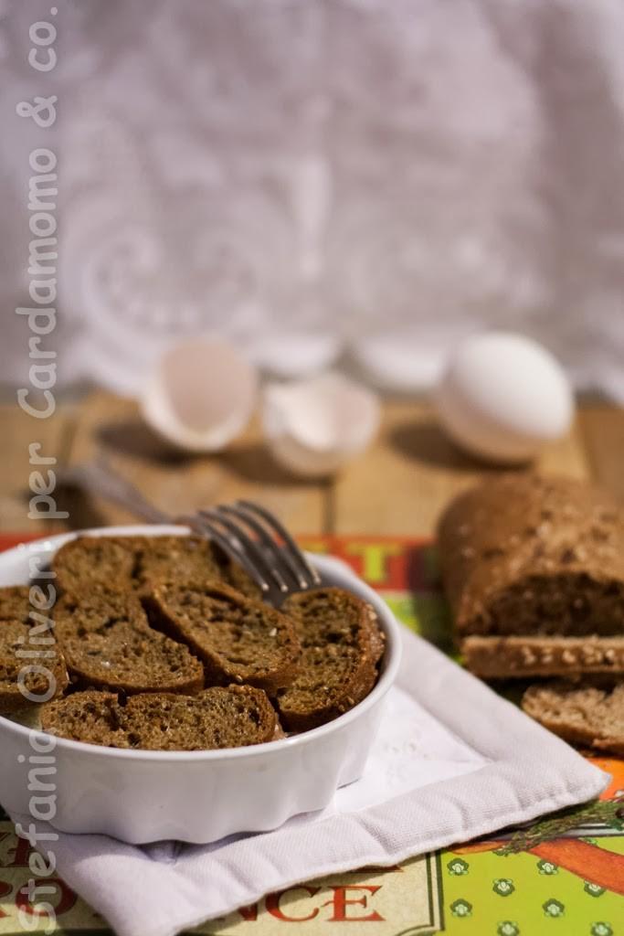 Sformato di pane senza glutine - Cardamomo & co