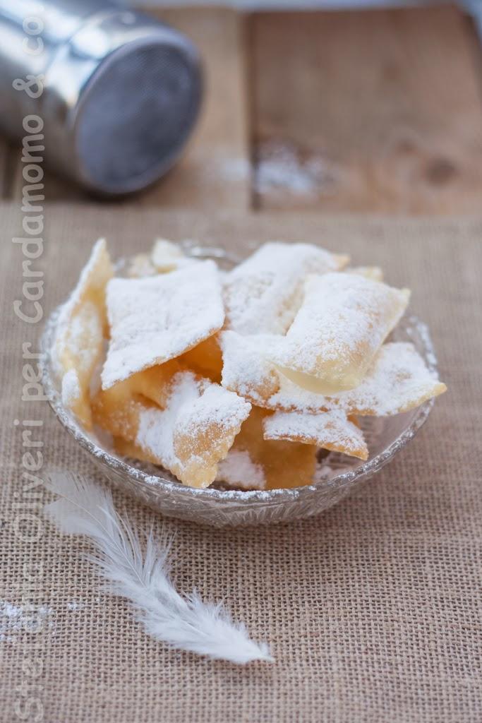 Chiacchiere facilissime e senza glutine - Cardamomo & co
