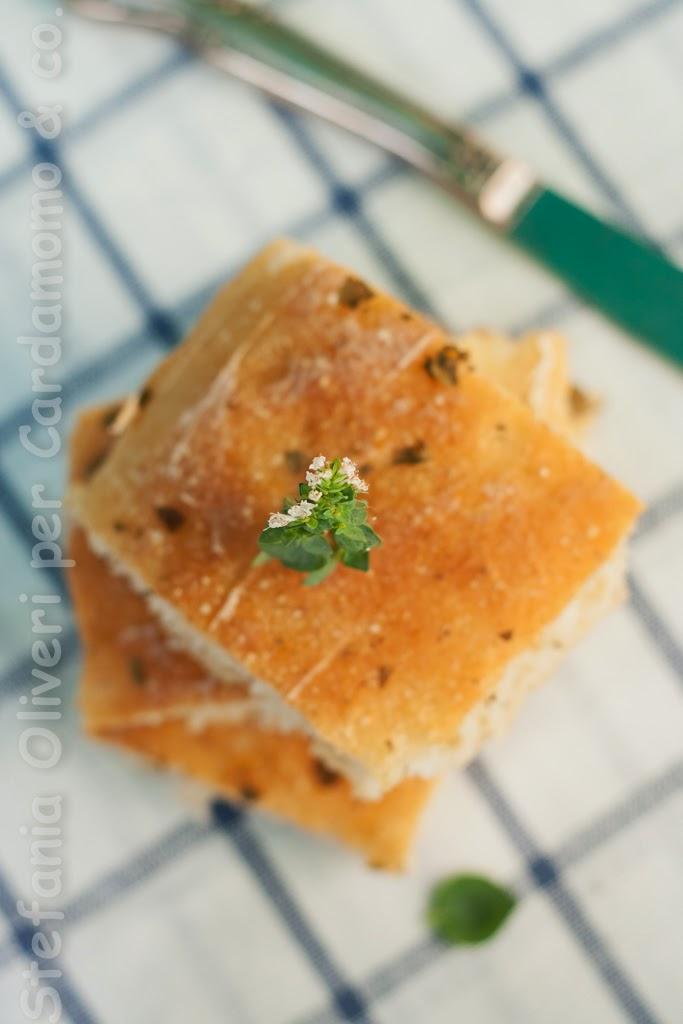 Focaccia alta senza glutine