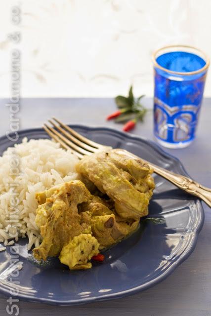 Agnello alle spezie aromatiche e riso - Cardamomo & co