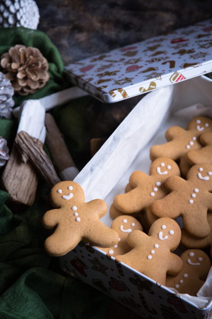 Omini di pan di zenzero senza glutine - Cardamomo & co