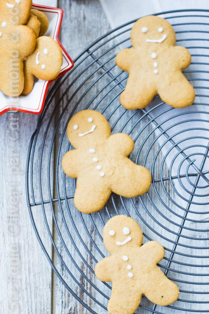 Gingerbread Cookies o Omini di pan di zenzero