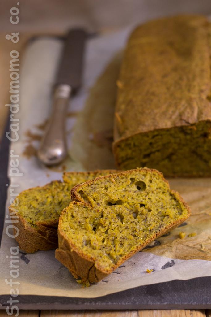 lumcake salato senza glutine alla zucca - Cardamomo & co