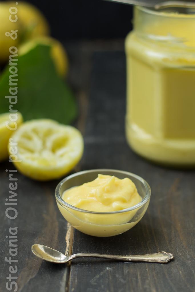 Lemon curd sena zucchero e burro b