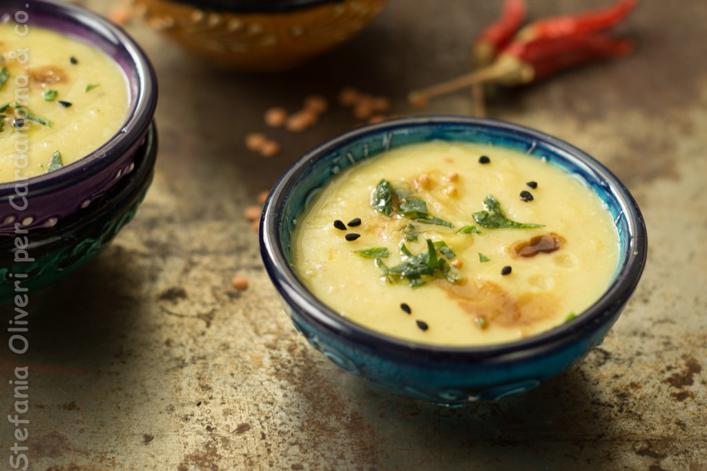 Zuppa di lenticchie Rosse all'indiana - Cardamomo & co