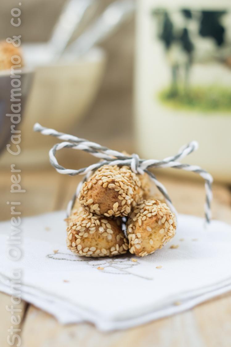 Biscotti reginella senza glutine, palermitani - Cardamomo & co