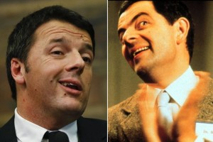 renzi mr bean
