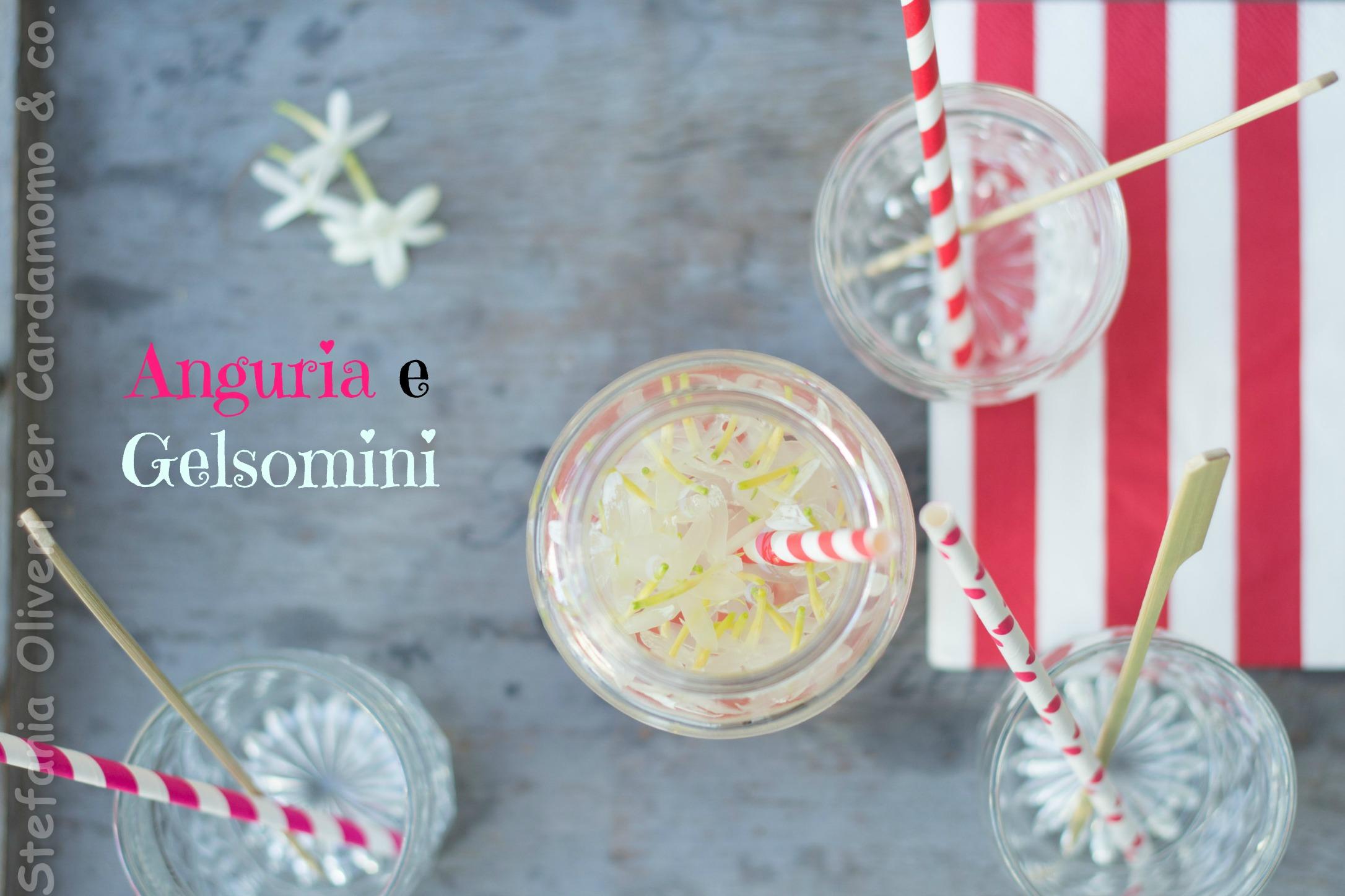 Acqua anguria e gelsomino - Cardamomo & co