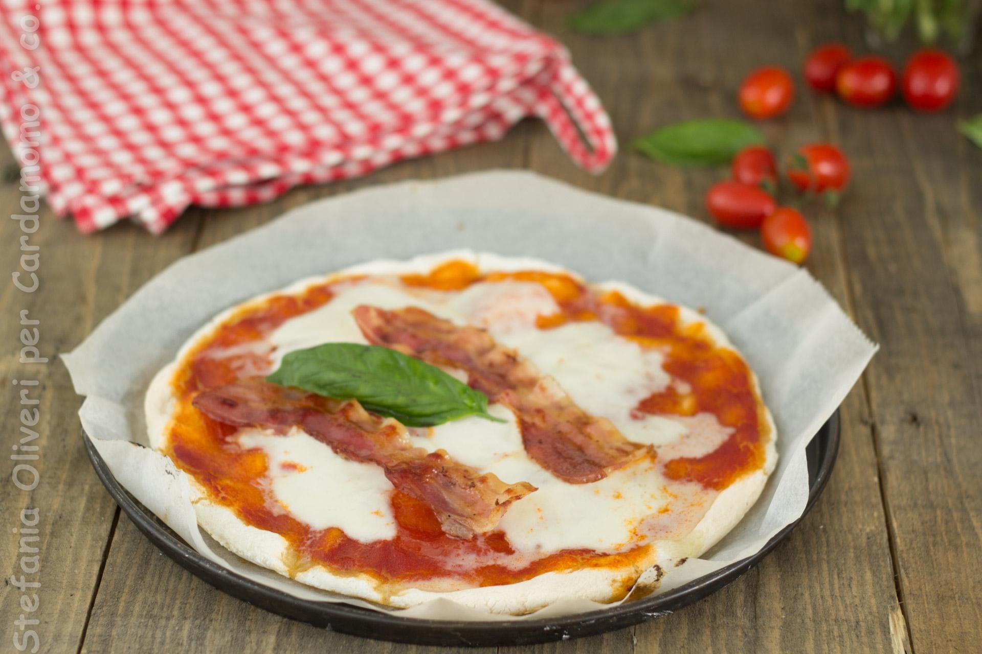 Pizza con lievito madre e senza glutine