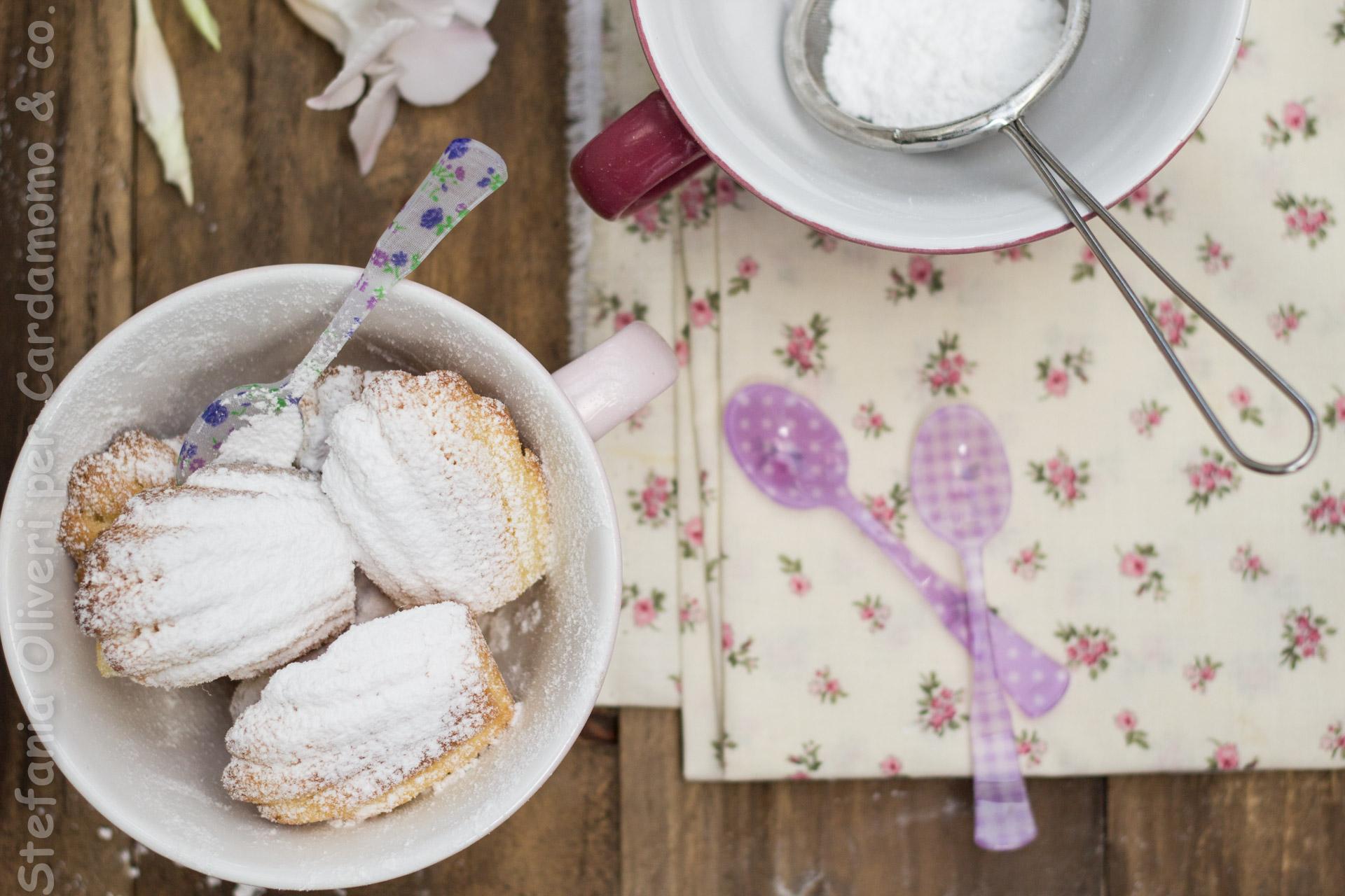 Madeleines senza glutine - Cardamomo & co