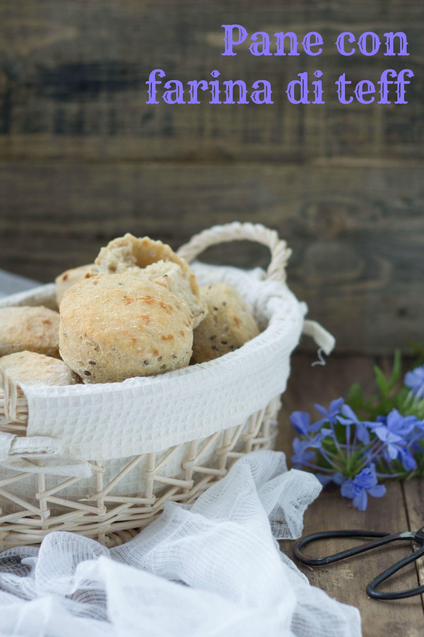 Panini senza glutine con farina di teff - Cardamomo & co