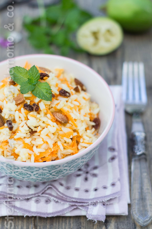 Insalata di riso persiana vegan - Cardamomo & co