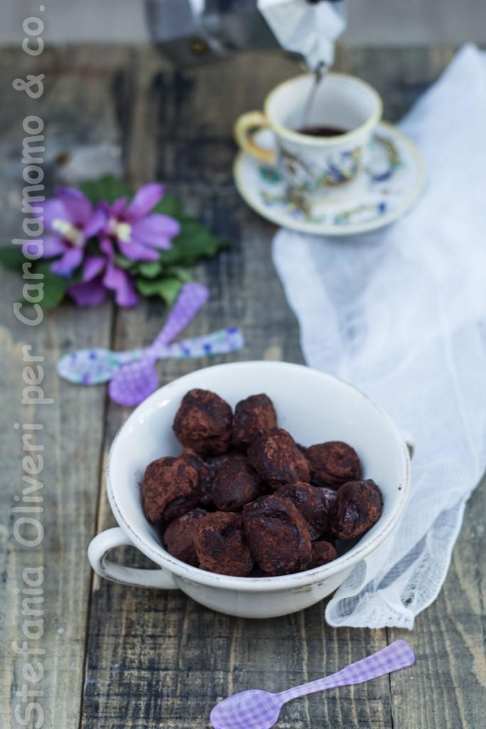 tartuf al cioccolato e burro d'arachidi 3885