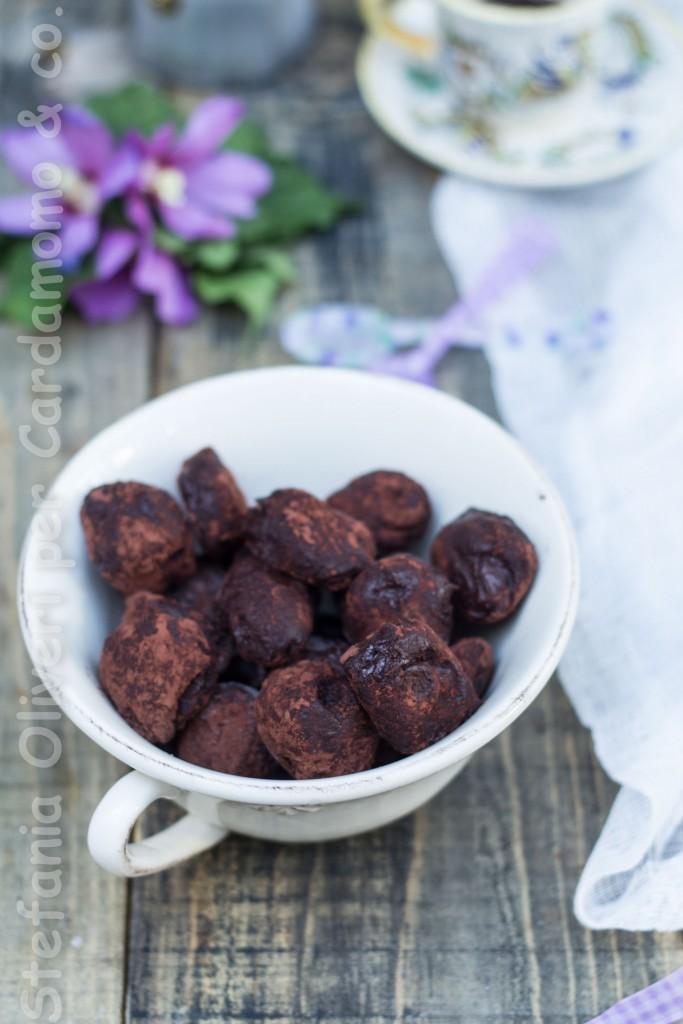 tartuf al cioccolato e burro d'arachidi 3886