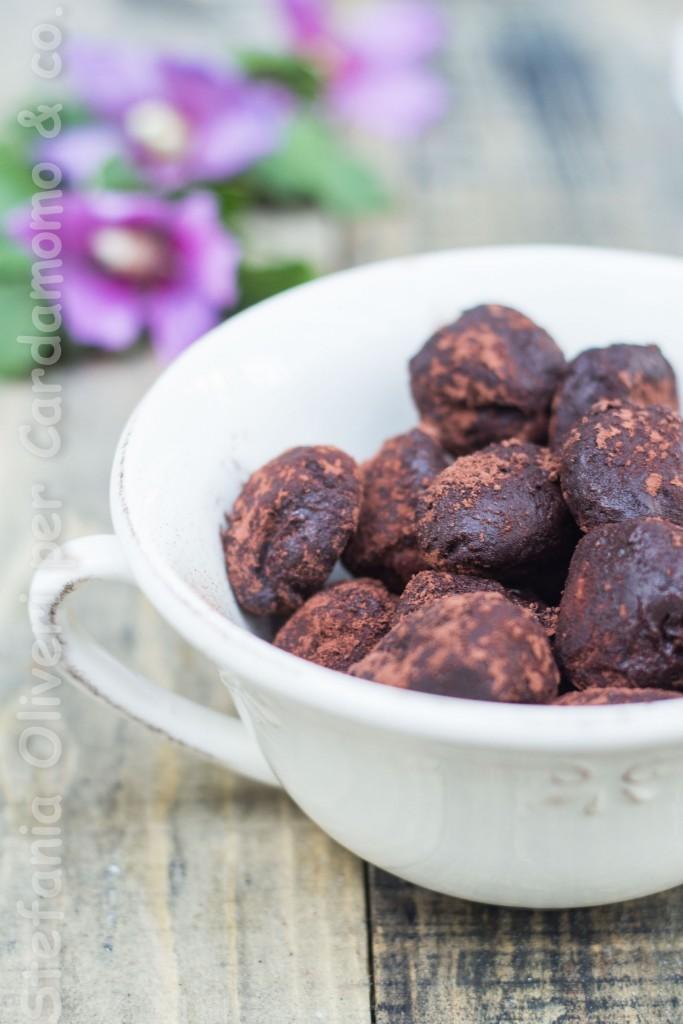 tartuf al cioccolato e burro d'arachidi 3900