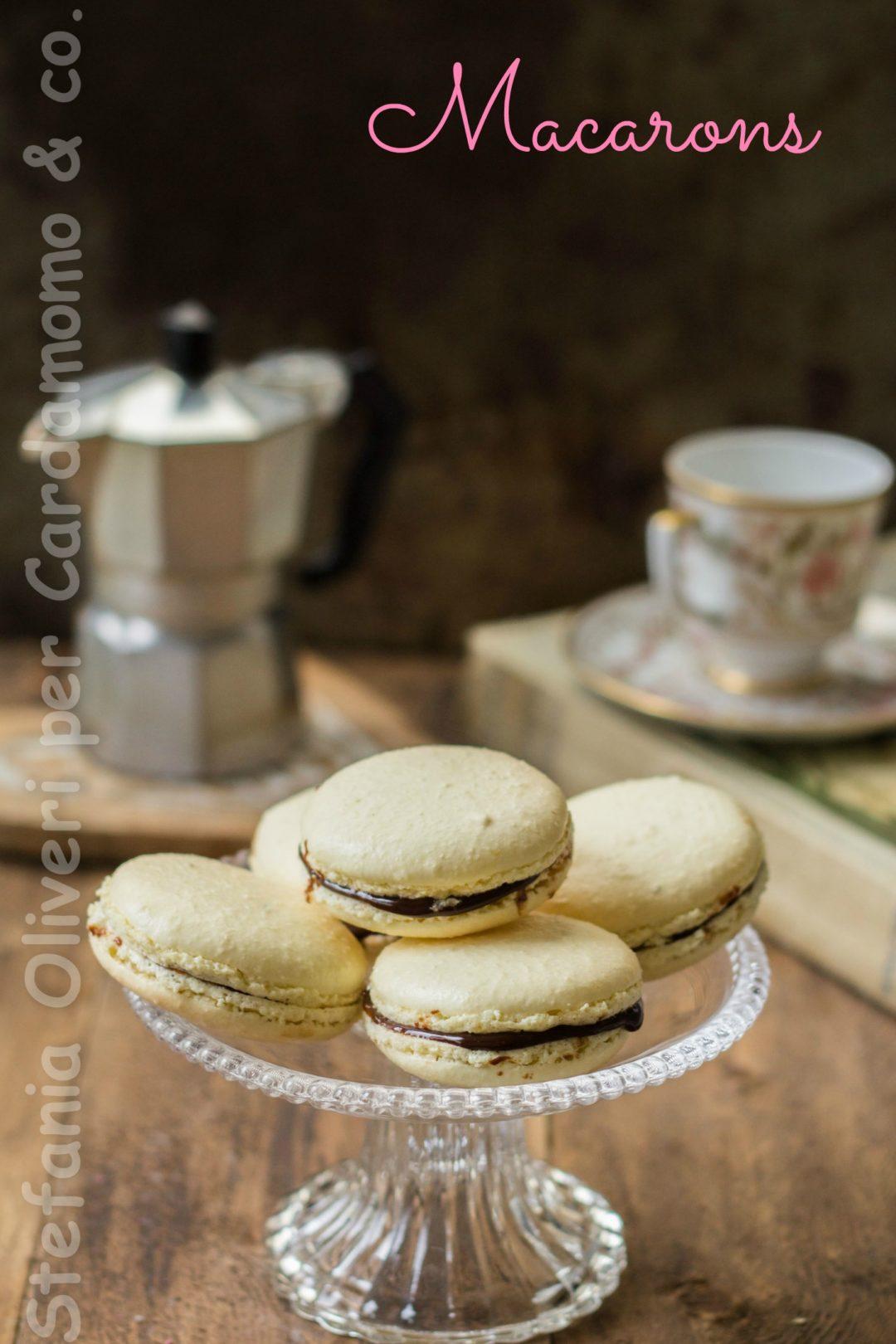 Macaron cioccolato al caffè - Cardamomo & co