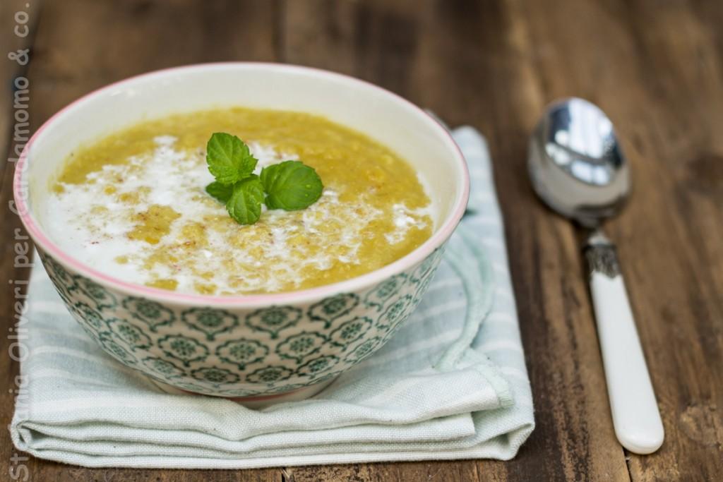 Zuppa indiana lenticchie e cocco - Cardamomo & co