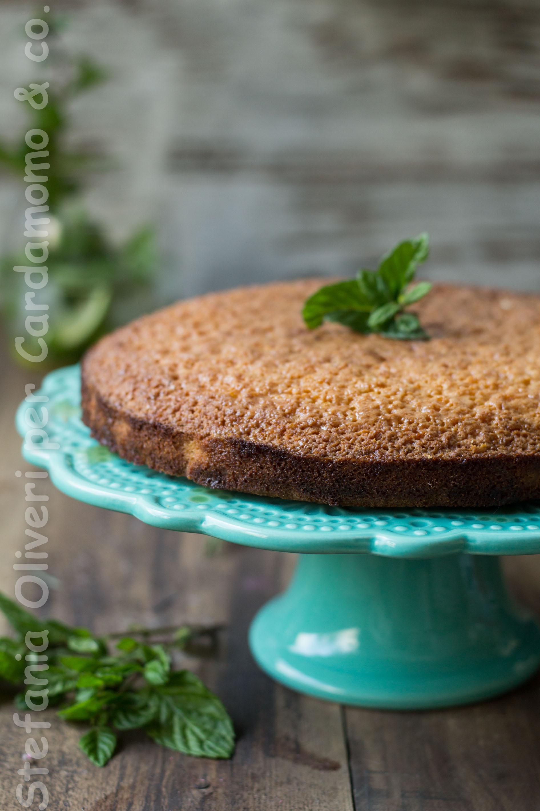 Torta al mojito senza glutine naturalmente - Cardamomo & co