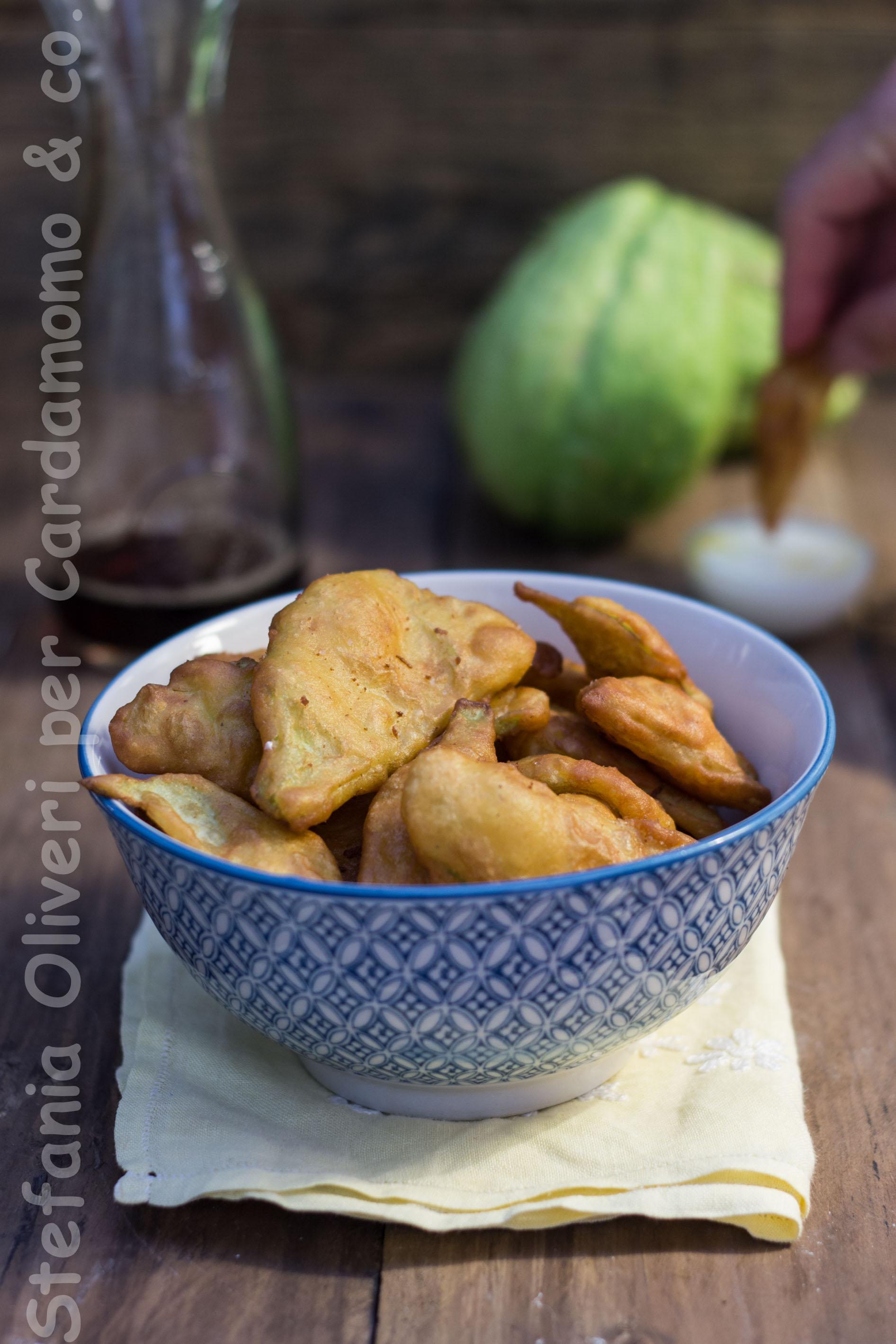Pakora con zucchina centenaria - Cardamomo & coPakora con zucchina centenaria - Cardamomo & co
