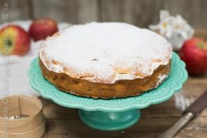 Torta di mele e limoncello senza glutine - Cardamomo & co