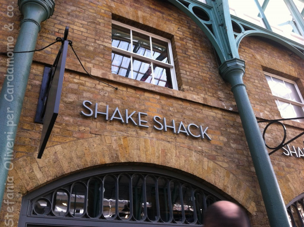 Londra Shake and shacK