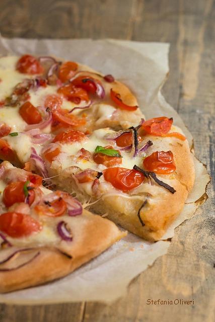 Pizza senza glutine e lievito madre - Cardamomo & co