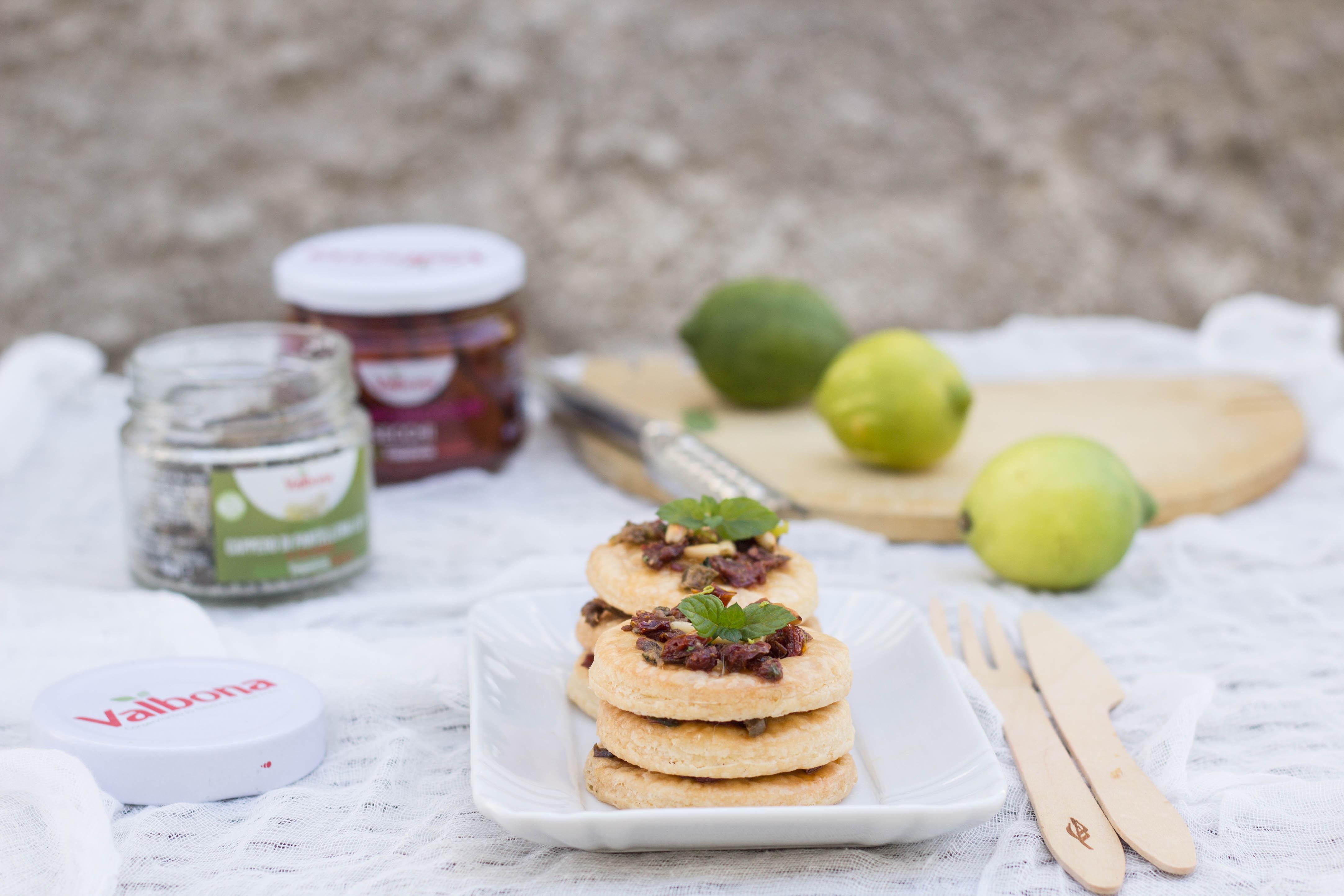 Millefoglie di finta sfoglia senza glutine con trito siciliano - Cardamomo & co