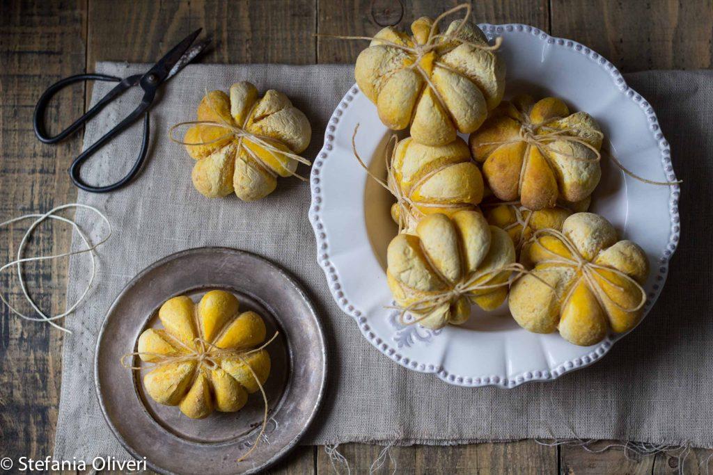 Pane alla zucca senza glutine - Cardamomo & co