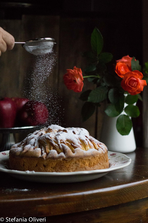 torta di mele senza burro - Cardamomo & co