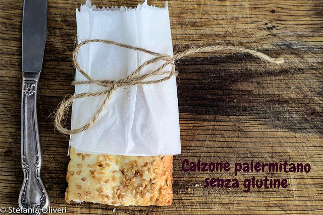 Calzoni al forno senza glutine, rosticceria siciliana - Cardamomo & co