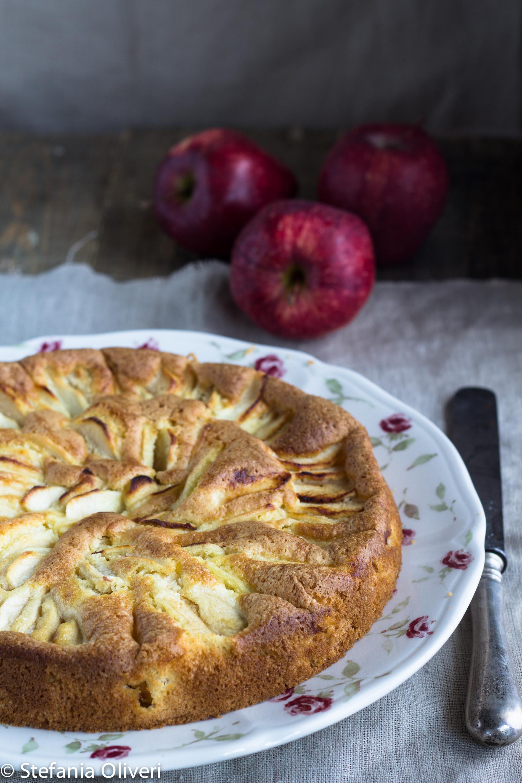 Torta di mele all'olio senza glutine - Cardamomo & co