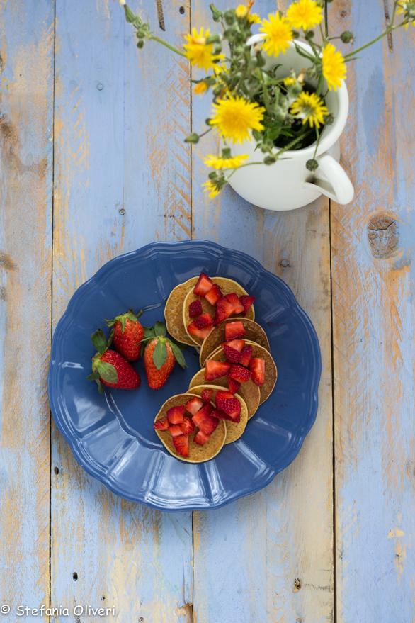 Pancake vegan e senza glutine - Cardamomo & co