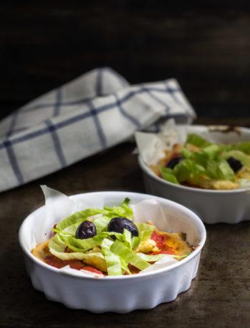 Pizza di quinoa vegan e senza glutine