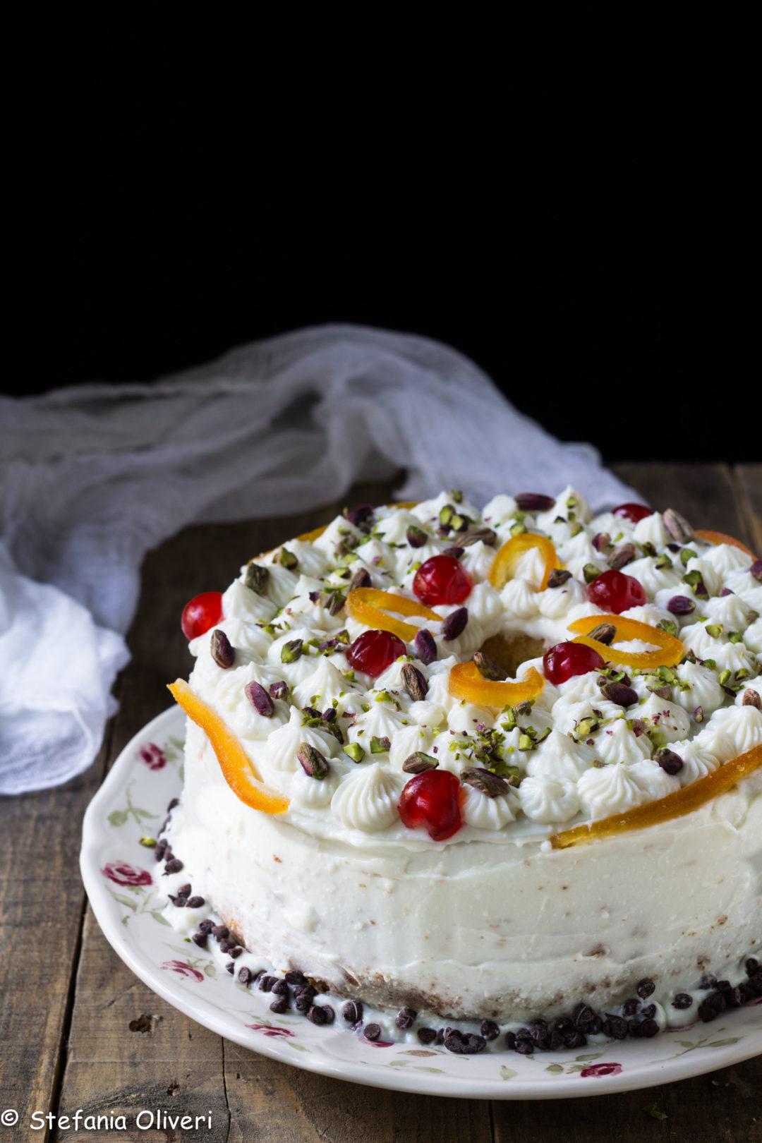 Chiffon cake alla cassata