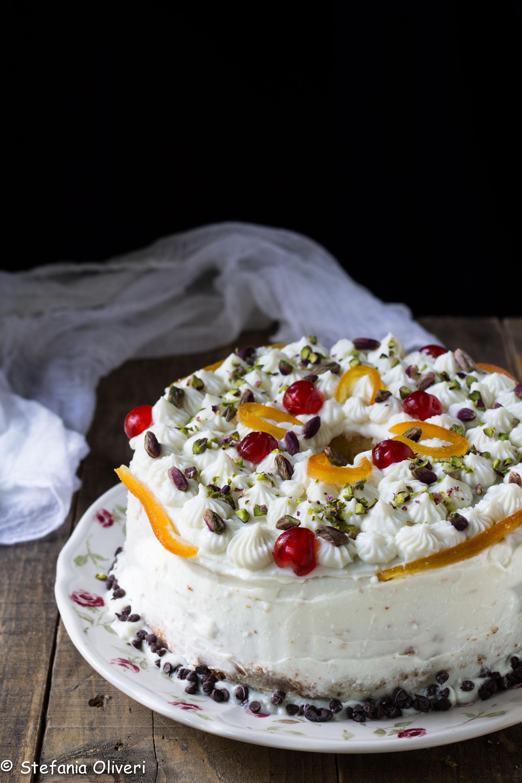 Chiffon cake senza glutine alla cassata - Cardamomo & co