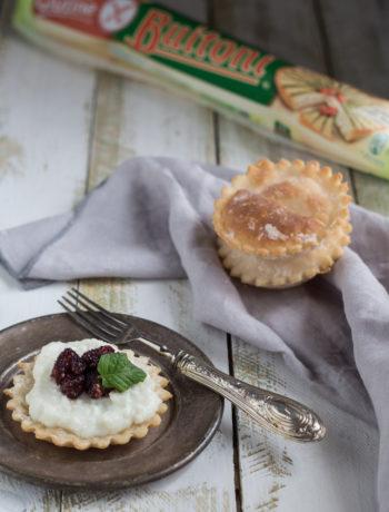 Pasta sfoglia buitoni senza glutine con ricotta e gelsi - Cardamomo & co
