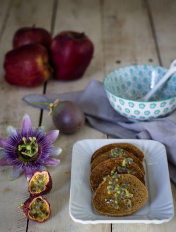 Pancake alla quinoa e mele - Cardamomo & co
