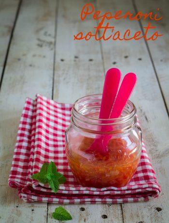 Peperoni sott'aceto senza cottura - Cardamomo & co
