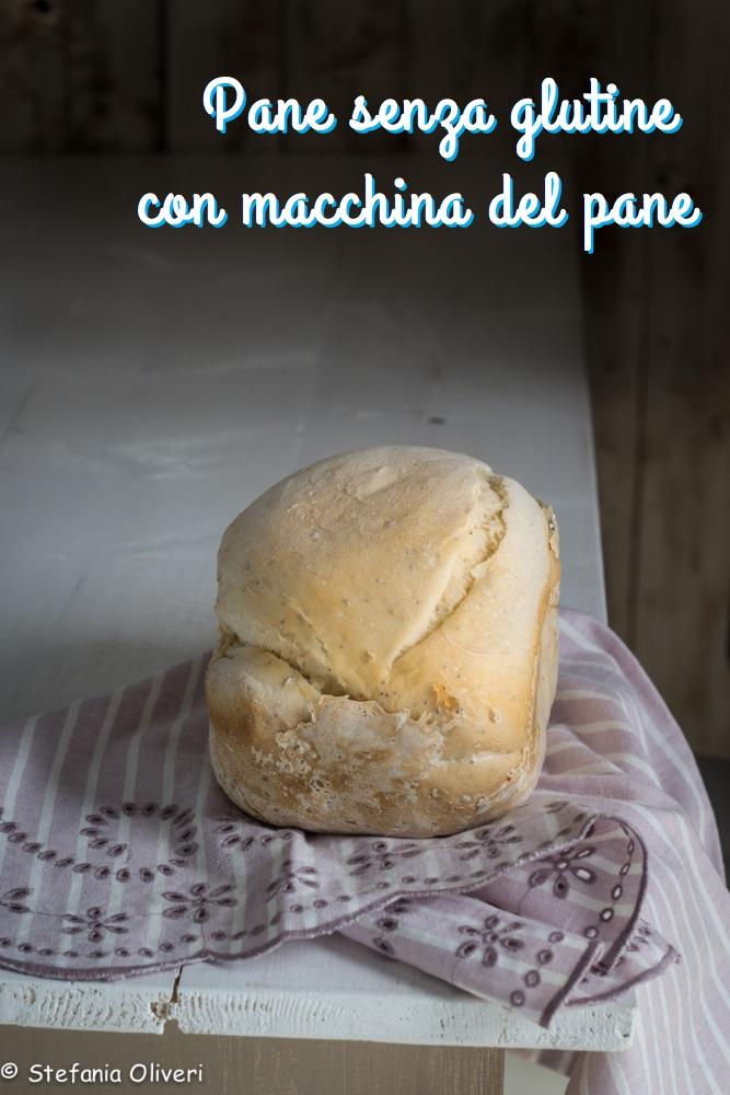 Pane senza glutine con la macchina del pane - Cardamomo & co